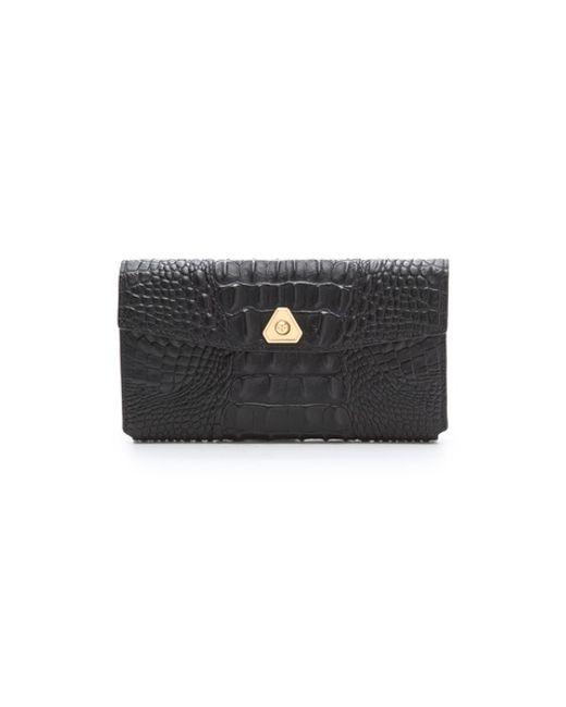 Alexander Wang | Black Fumo Continental Wallet | Lyst