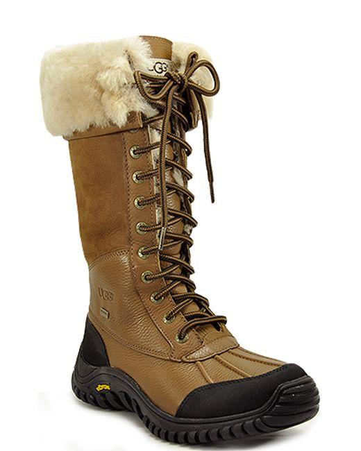 Ugg | Brown Ugg Adirondack Tall Boot | Lyst