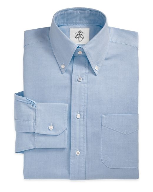 Brooks Brothers | Blue Button-down Oxford Shirt for Men | Lyst