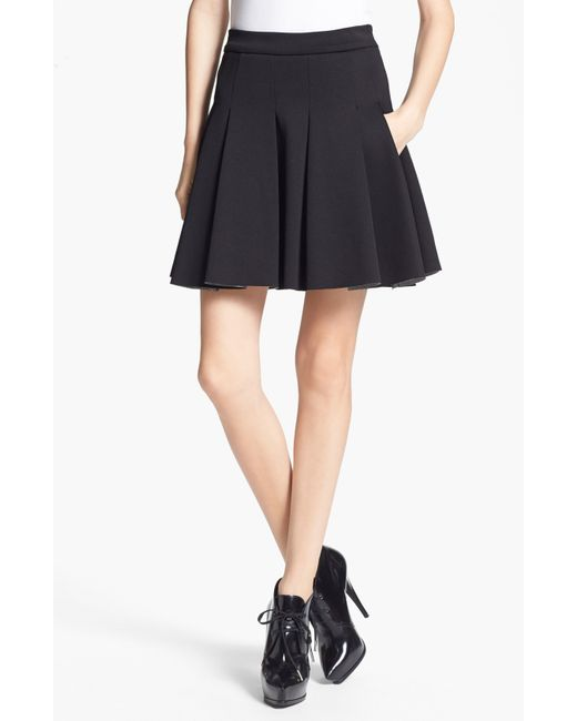 T By Alexander Wang | Black Mini Skirt | Lyst