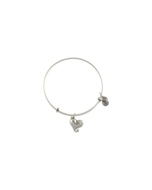 ALEX AND ANI | Metallic Cupid's Heart Bangle | Lyst