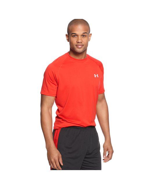 Under Armour | White Tech Short Sleeve T-shirt for Men | Lyst