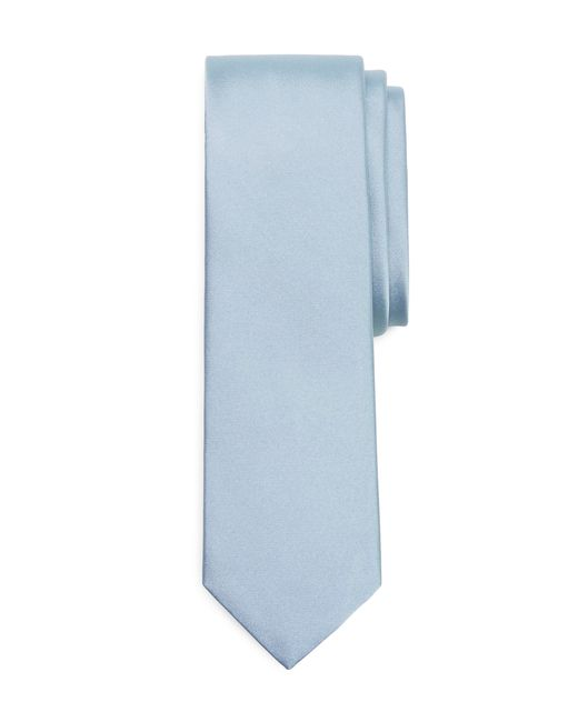 Brooks Brothers | Blue Formal Satin Slim Tie for Men | Lyst