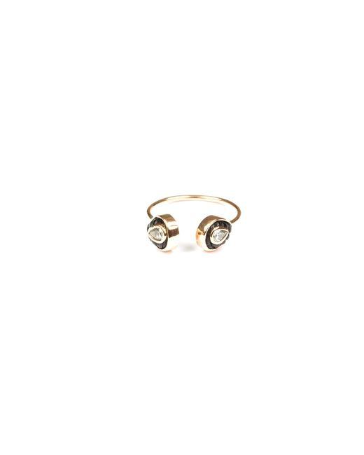 Dezso by Sara Beltran | Pink Chione Coral Petite Cuff Ring | Lyst