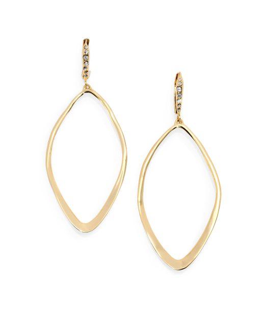 Alexis Bittar   Metallic Miss Havisham Hyperion Leaf Drop Earrings   Lyst