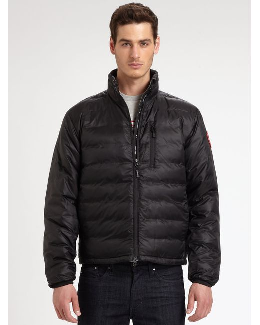 Canada Goose | Black Lodge Down Jacket for Men | Lyst