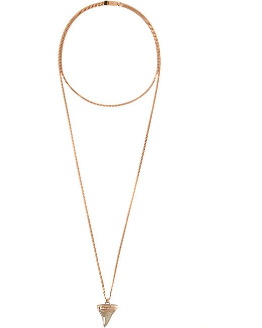 Givenchy   Metallic Small Shark Necklace   Lyst