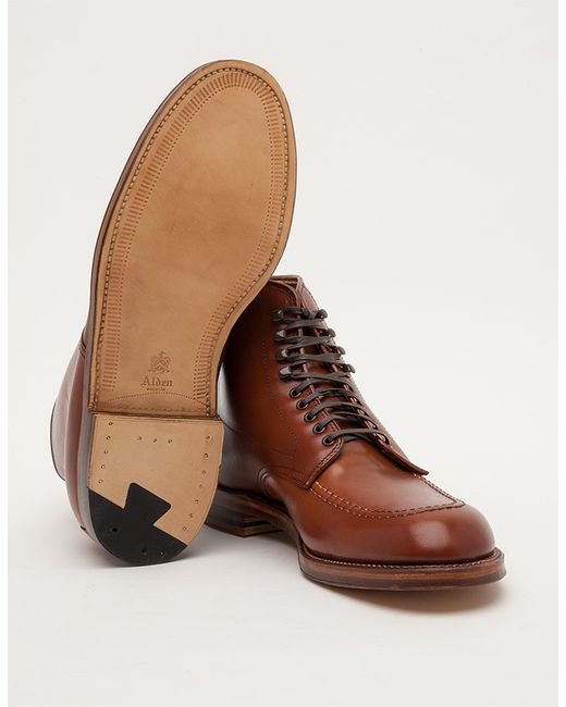 Alden Church Hill Indy Boot In Brown For Men Veg Tan Lyst