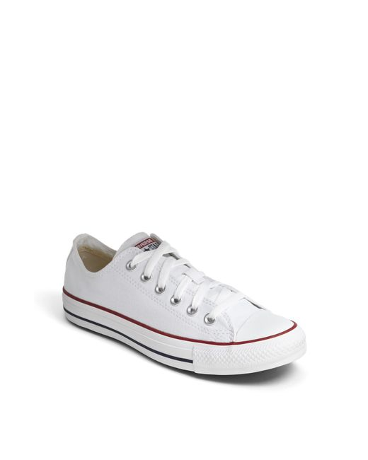 Converse | White Chuck Taylor Low Top Sneaker | Lyst