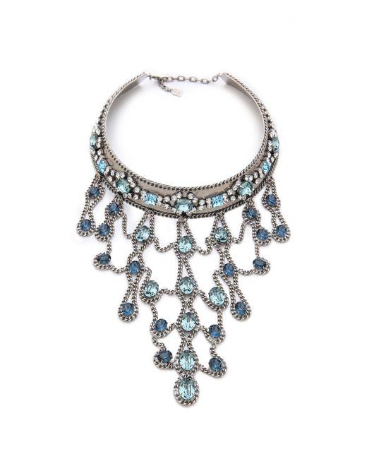 DANNIJO | Metallic Basel Necklace | Lyst