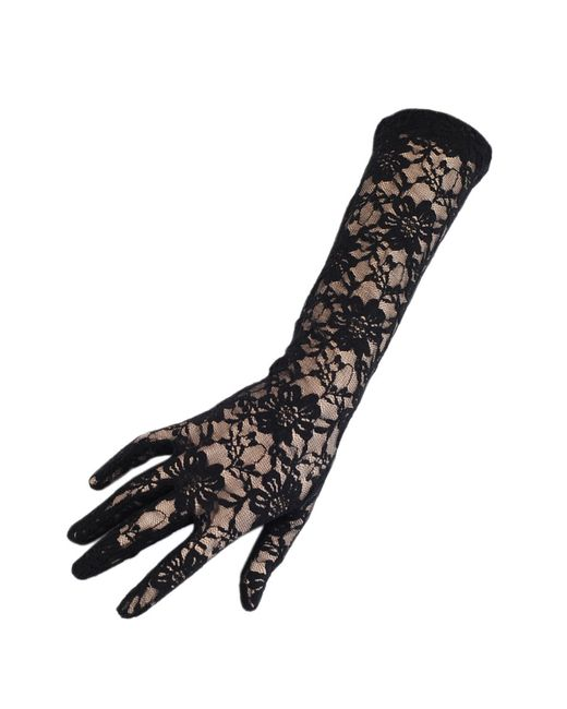 Lace gloves hand made in England. Lace gloves for every occasion - long, short, fingerless. Free Worldwide Shipping.
