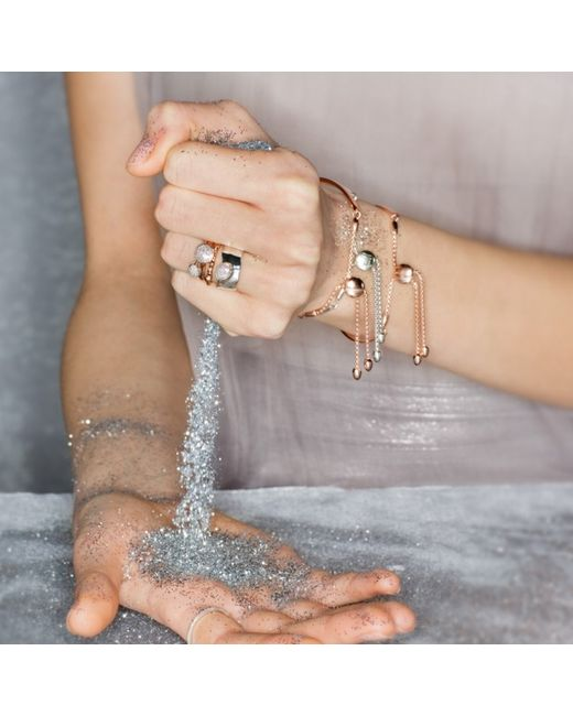 Monica Vinader   Metallic Fiji Chain Bracelet   Lyst