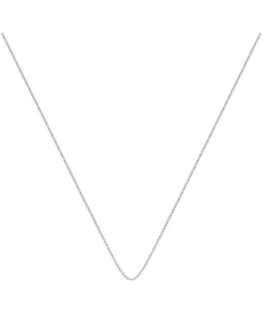 Monica Vinader   Metallic Adjustable Rolo Chain (32)   Lyst
