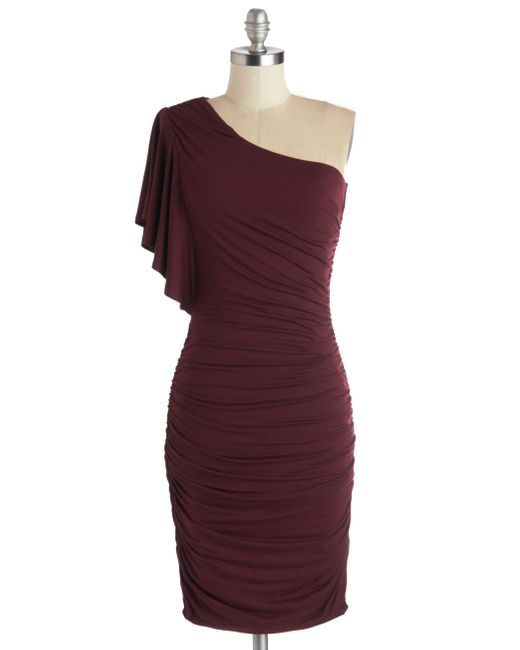 Gilli | Red Tasting Room Dress In Wine | Lyst