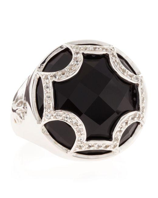 Elizabeth Showers | Black Onyx Maltese Canopy Ring | Lyst