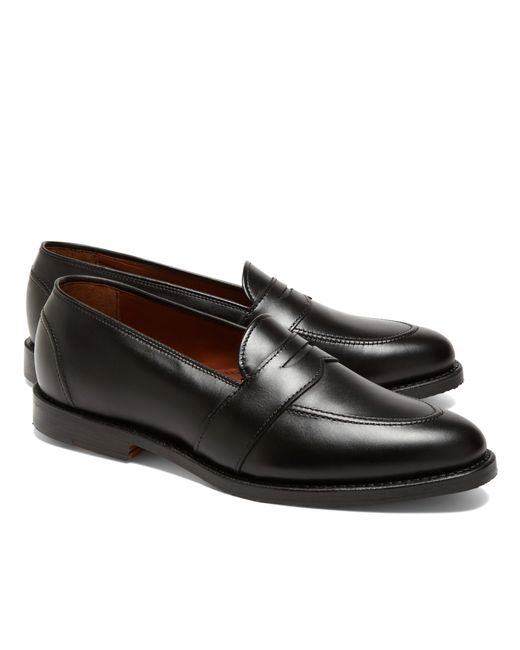 Brooks Brothers | Black Low Vamp Penny Loafers for Men | Lyst