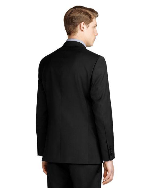 Brooks Brothers | Black Regent Fit Solid 1818 Suit for Men | Lyst