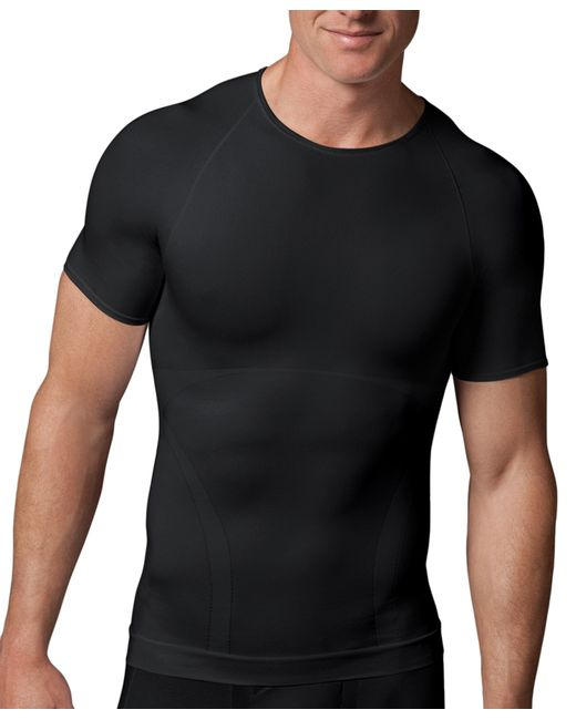 Brooks Brothers | Black Spanx® Zoned Performance Crew for Men | Lyst