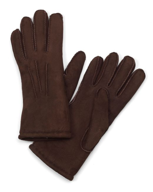 Brooks Brothers | Brown Shearling Gloves for Men | Lyst