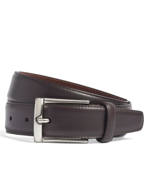 Brooks Brothers | Purple Calfskin Dress Belt for Men | Lyst