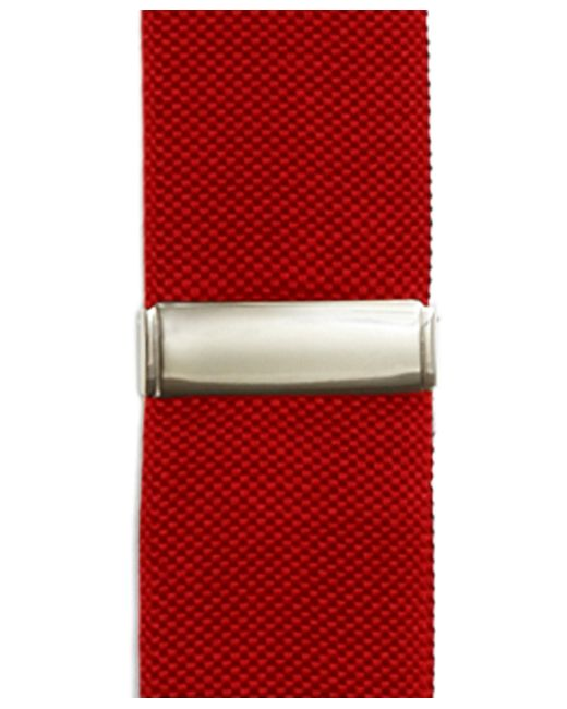 Brooks Brothers | Red Solid Suspenders for Men | Lyst