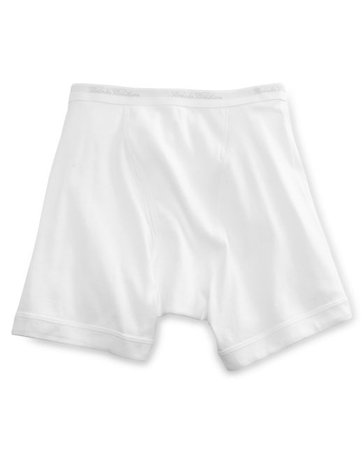 Brooks Brothers | White Supima® Boxer Briefs for Men | Lyst