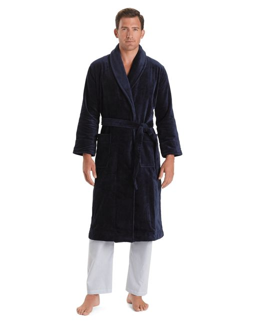 Brooks Brothers | Blue Supima® Robe for Men | Lyst