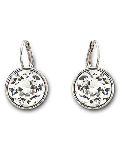 Swarovski | Metallic Bella Pierced Earrings | Lyst