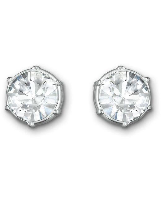 Swarovski | Metallic Typical Pierced Earrings | Lyst