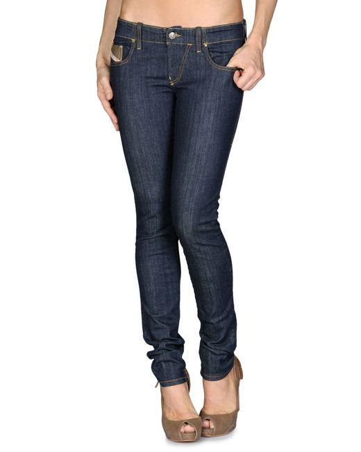 DIESEL   Blue Grupee Jeans   Lyst