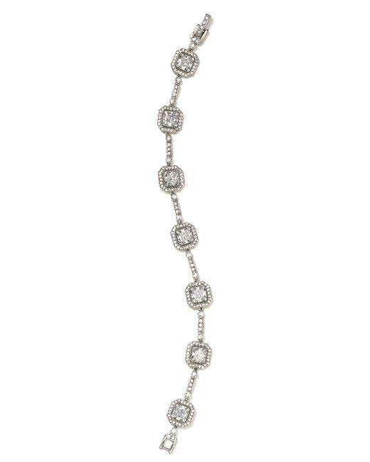 Nadri | Metallic Framed Line Bracelet | Lyst
