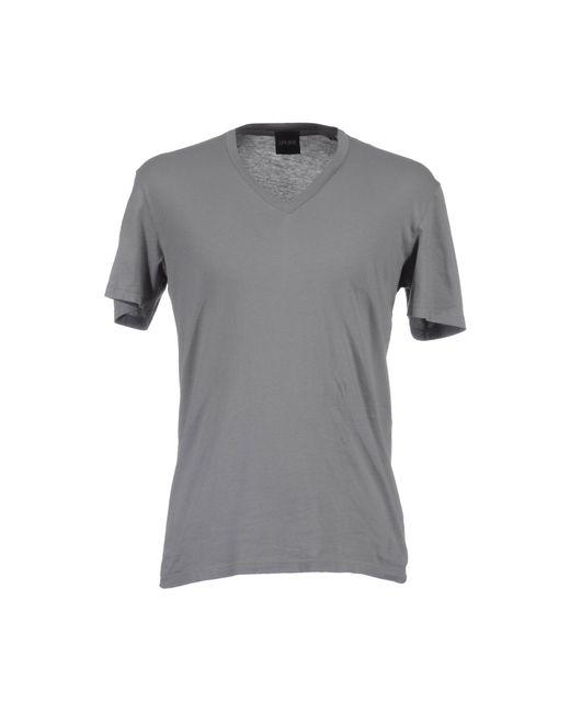Simon Spurr | Gray Short Sleeve T-shirt for Men | Lyst
