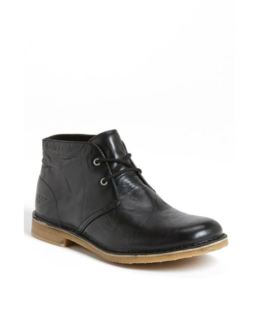 Ugg | Black Ugg Leighton Chukka Boot for Men | Lyst