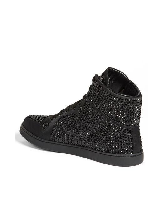 Gucci Coda Bling High Top Sneaker In Black For Men Lyst