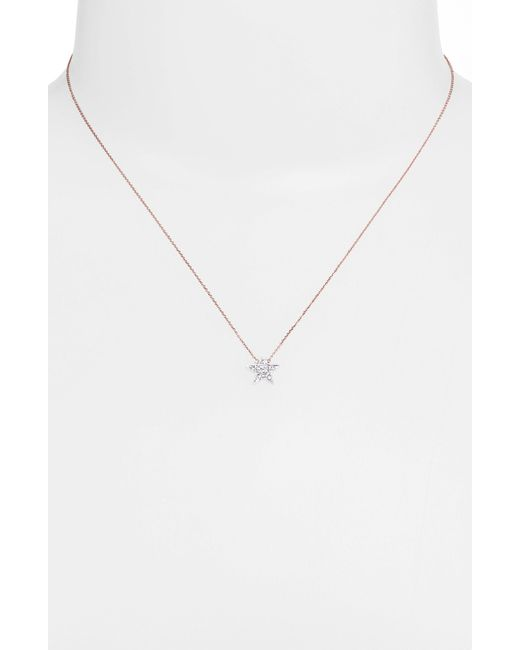 Dana Rebecca | Metallic 'julianne Himiko' Diamond Star Pendant Necklace | Lyst