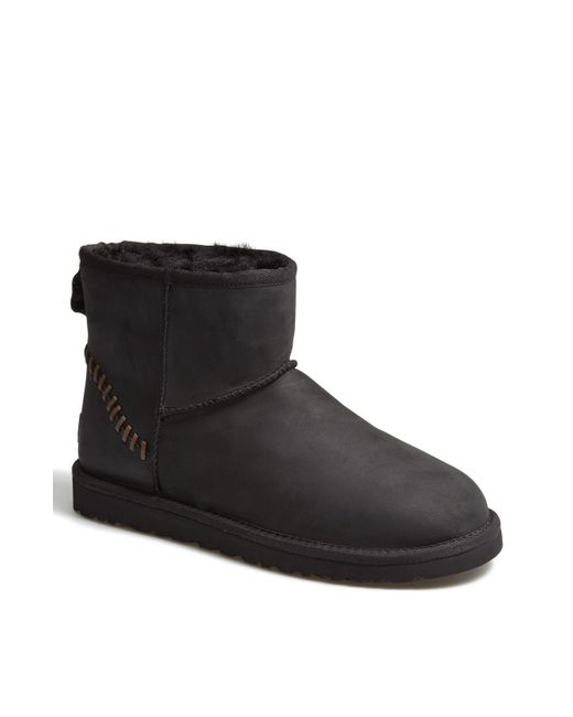 Ugg | Black Ugg 'classic Mini Deco' Boot for Men | Lyst