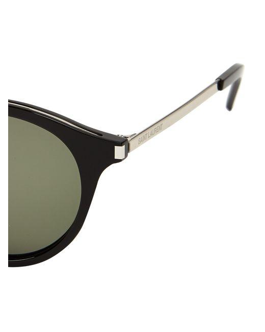 15808ed76c136 Saint Laurent Mens Round Sunglasses