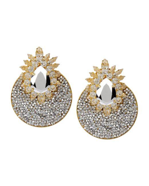 Shourouk | Metallic Earrings | Lyst