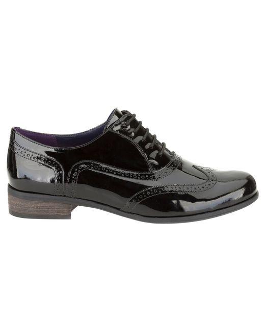 Black Patent Shoes Black Tights Brogues