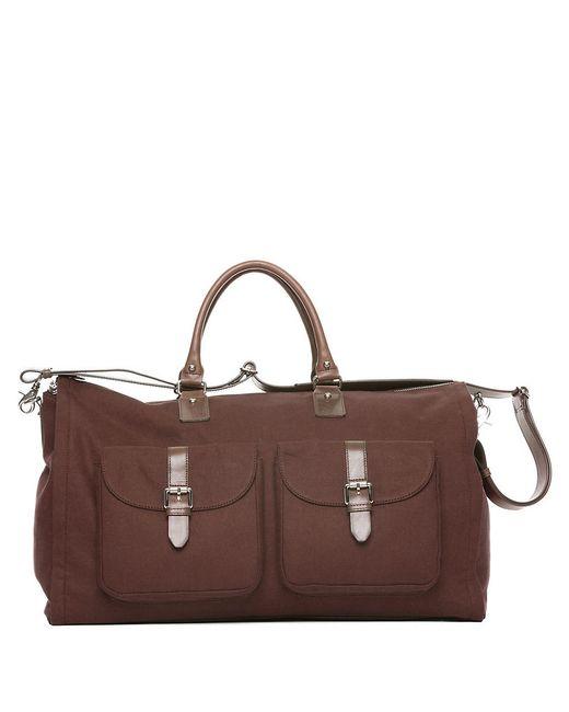 Hook + Albert | Brown Garment Weekender Bag for Men | Lyst