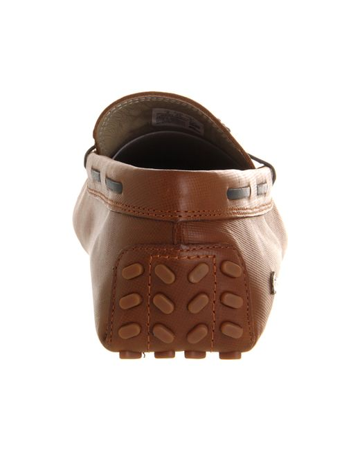 Lacoste Brown Concours Tassle for men