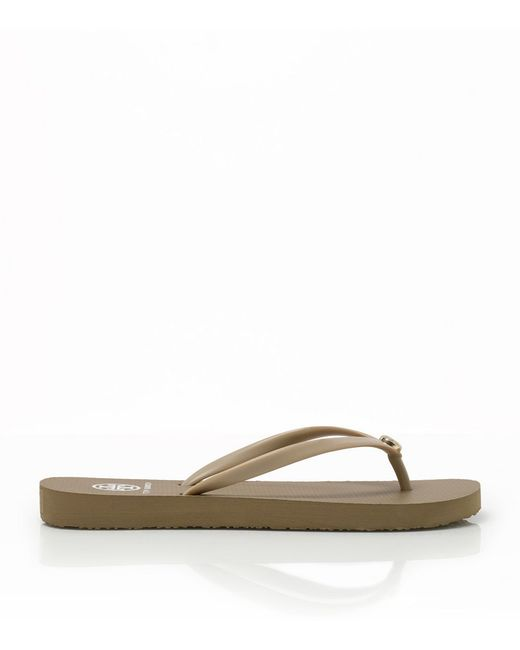Tory Burch | Natural Thin Flip-flop | Lyst