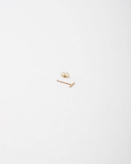 Kathleen Whitaker | Metallic Rose Staple Earring | Lyst