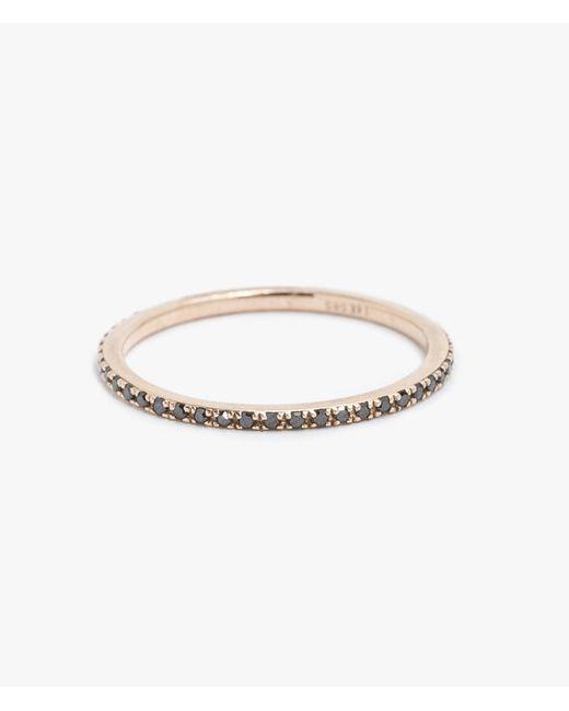 Gabriela Artigas | Pink 14k Rose Gold W/ Black Diamond Ring | Lyst