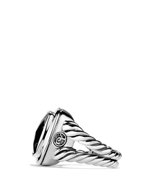 David Yurman | Albion Ring With Black Onyx & Diamonds | Lyst
