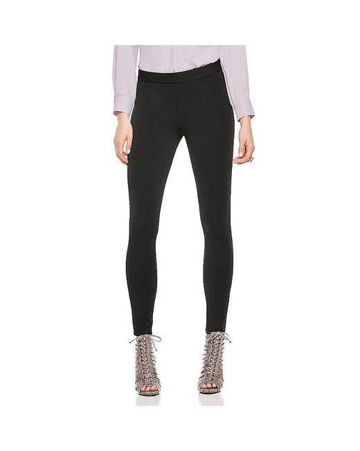 Vince Camuto | Black Outseam-panel Slim Pants | Lyst