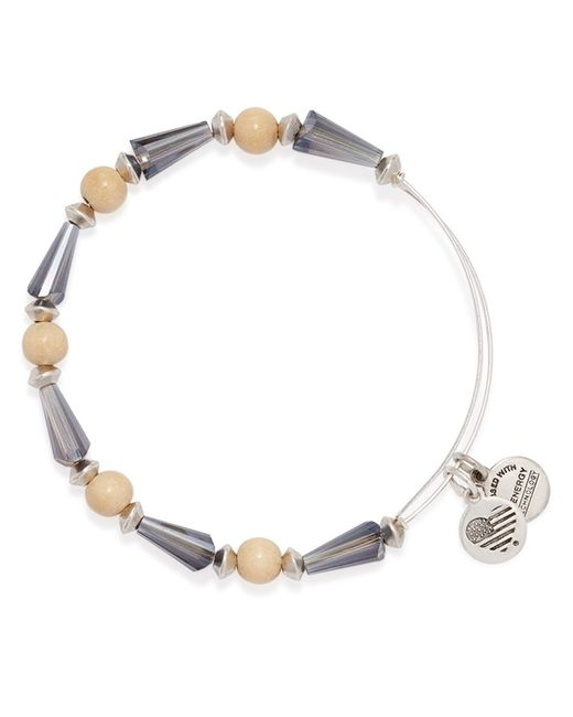 ALEX AND ANI | Metallic Seeds Of Promise Wrap Bangle | Lyst