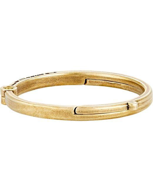 Giles & Brother | Metallic Latch Cuff Bracelet for Men | Lyst