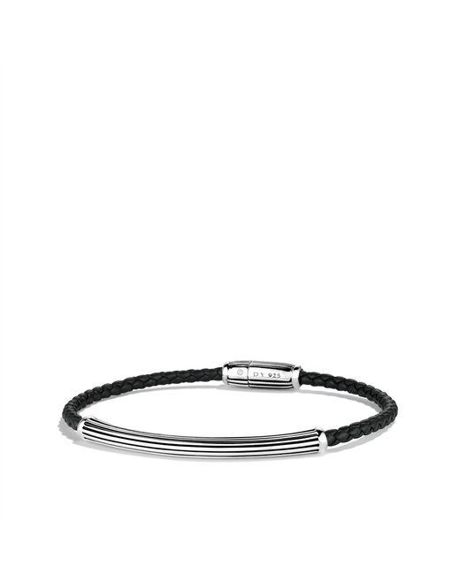 David Yurman | Cable Leather Bracelet In Black | Lyst