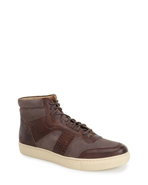 Andrew Marc | Brown 'concord' Sneaker for Men | Lyst